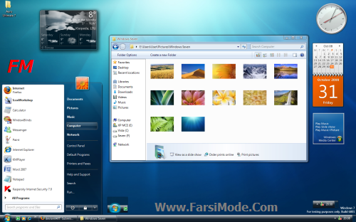 100 Themes For Windows7 %5BWww FarsiMode%20(6) دانلود مجموعه 100 تم ویندوز 7 Themes For Windows